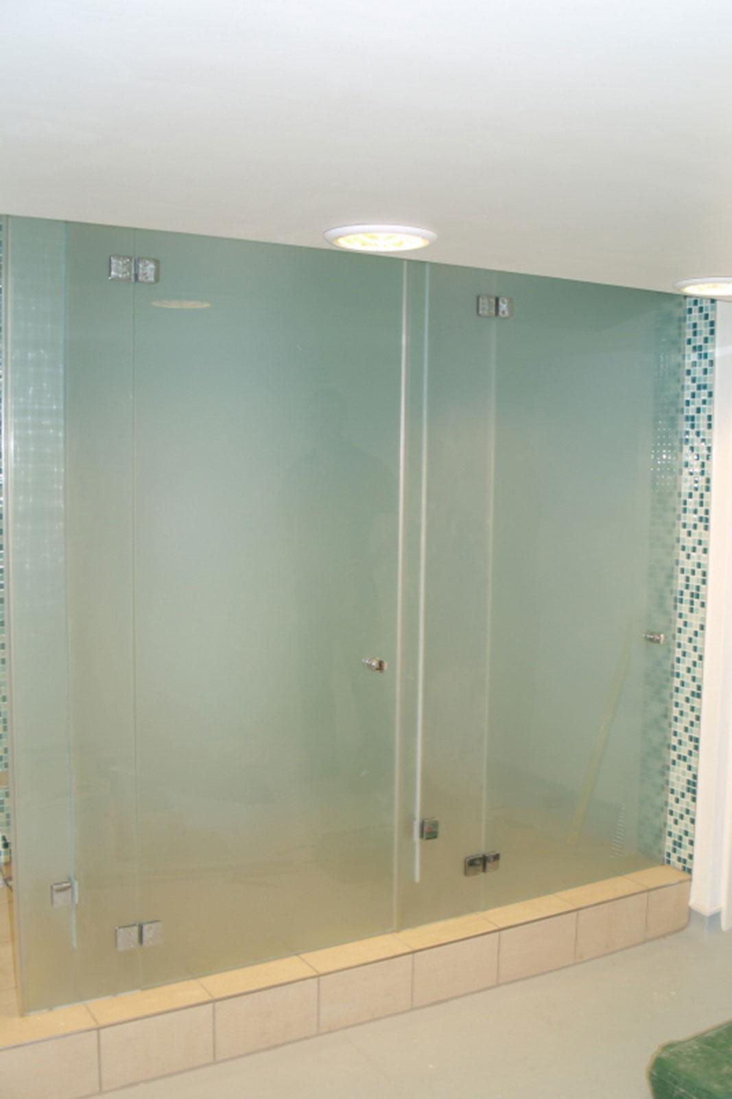 Frameless Glass Steam Rooms Glass Sauna Screens Ion Glass