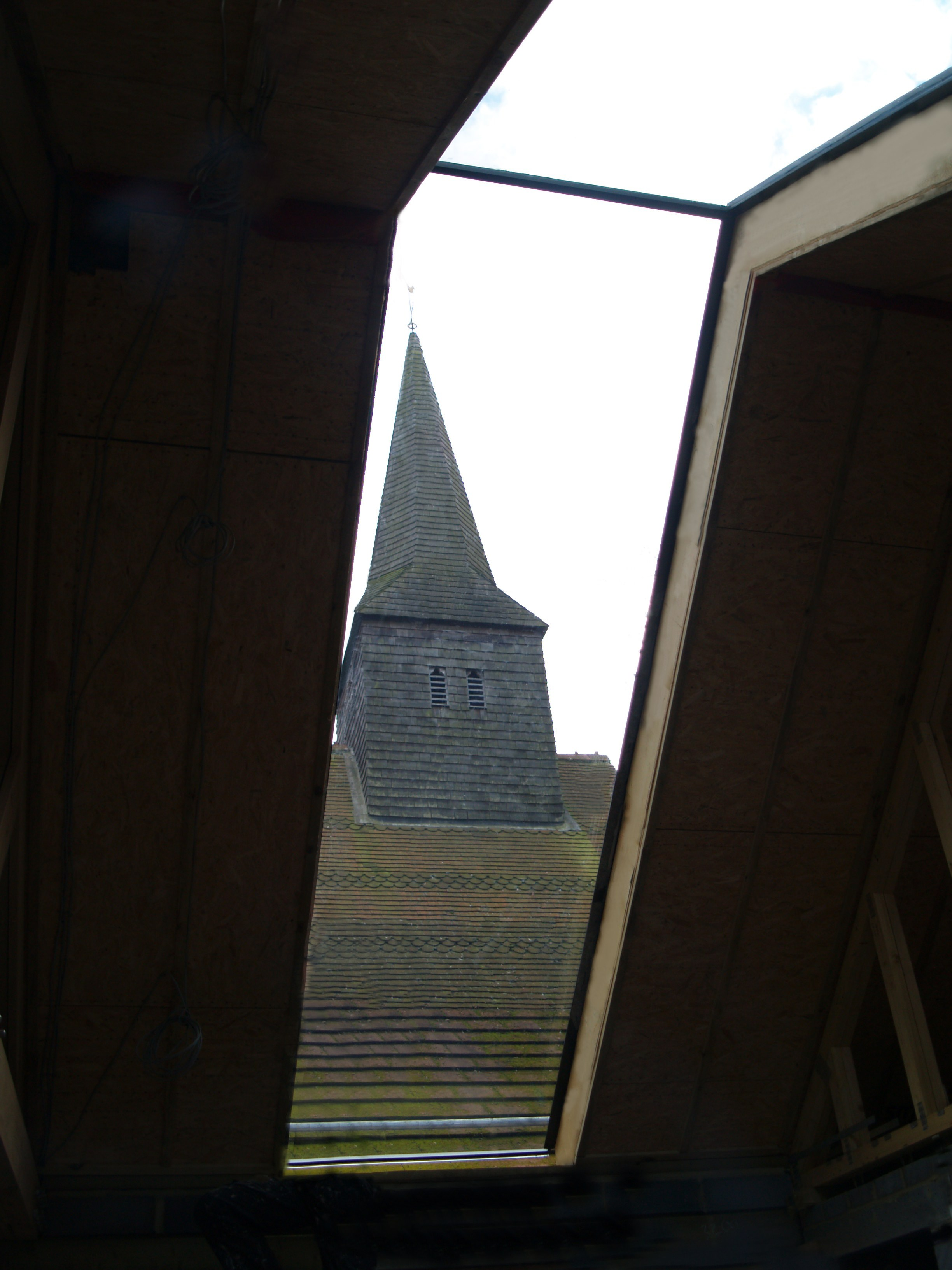 Full Length Glazed Rooflight, St. Thomas' Church