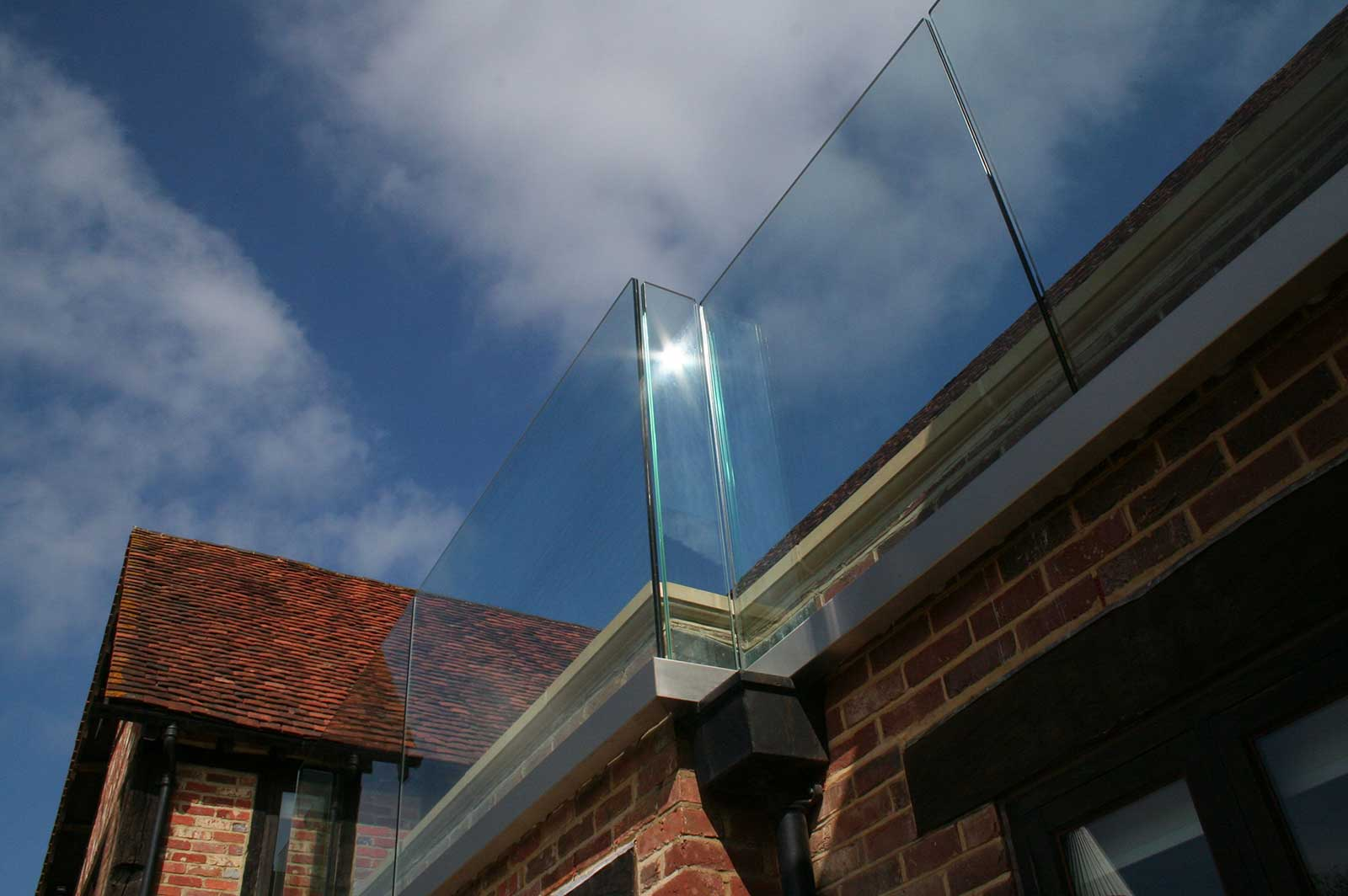 Bespoke Frameless Glass Balconies, Streele Farm
