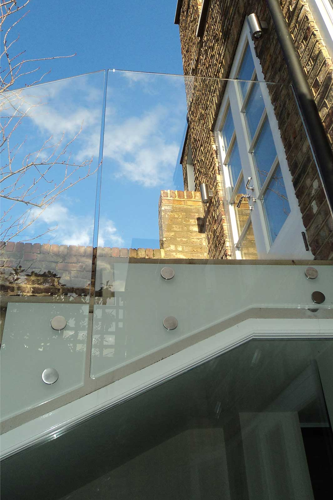 External Bolted Glass Balustrades