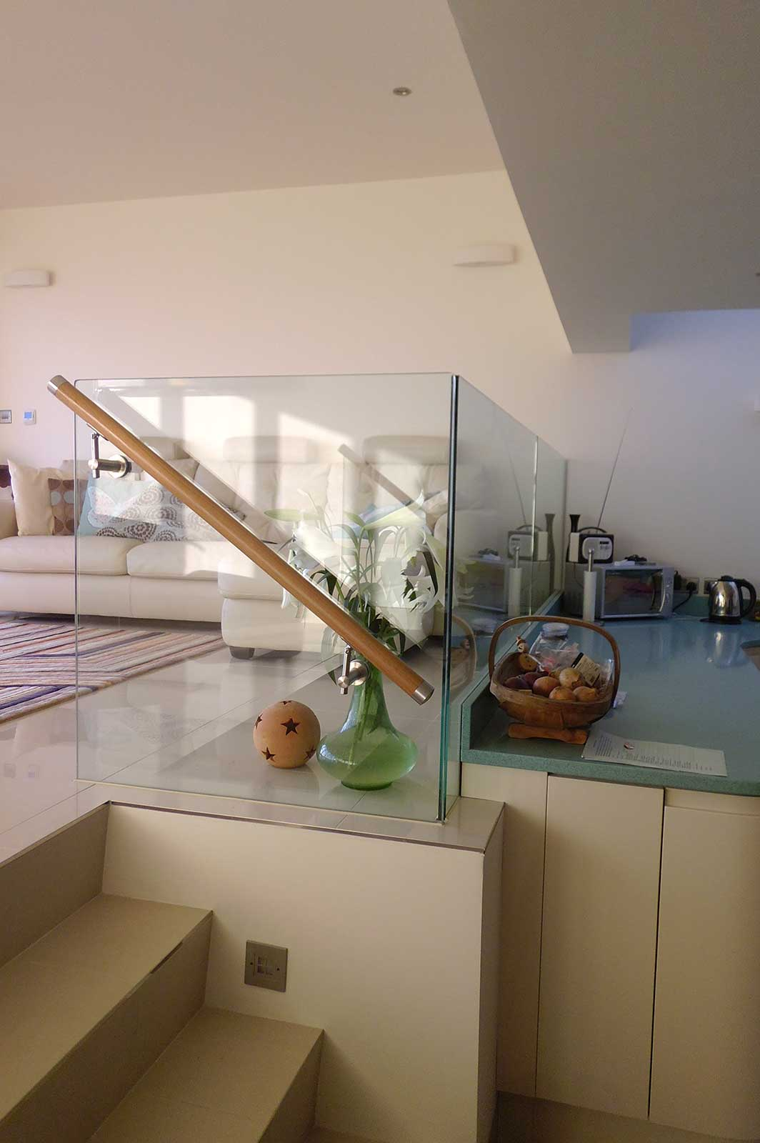 Glass Balustrading and Glazed Partitions, Pevensey Bay