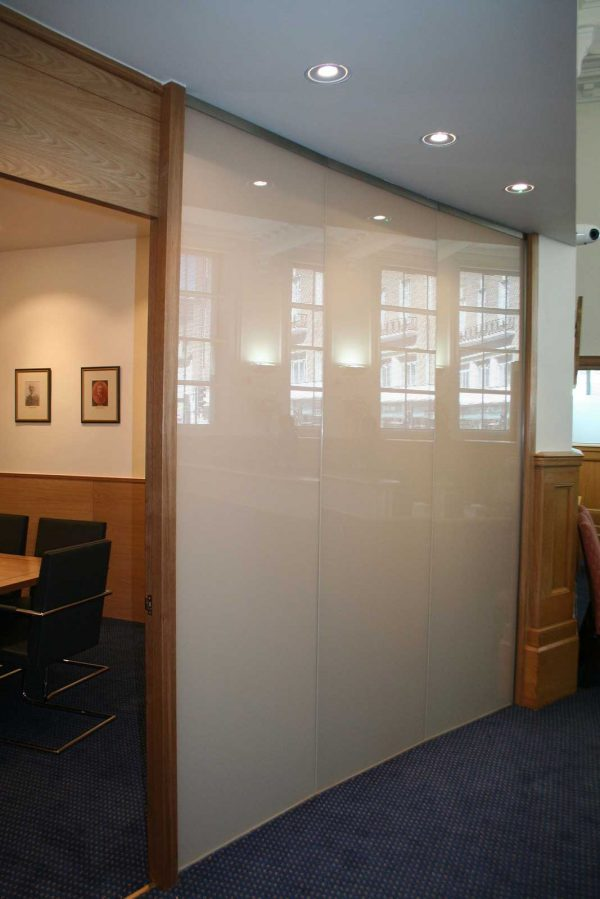 Opaque Glass Switchable Glass Screen