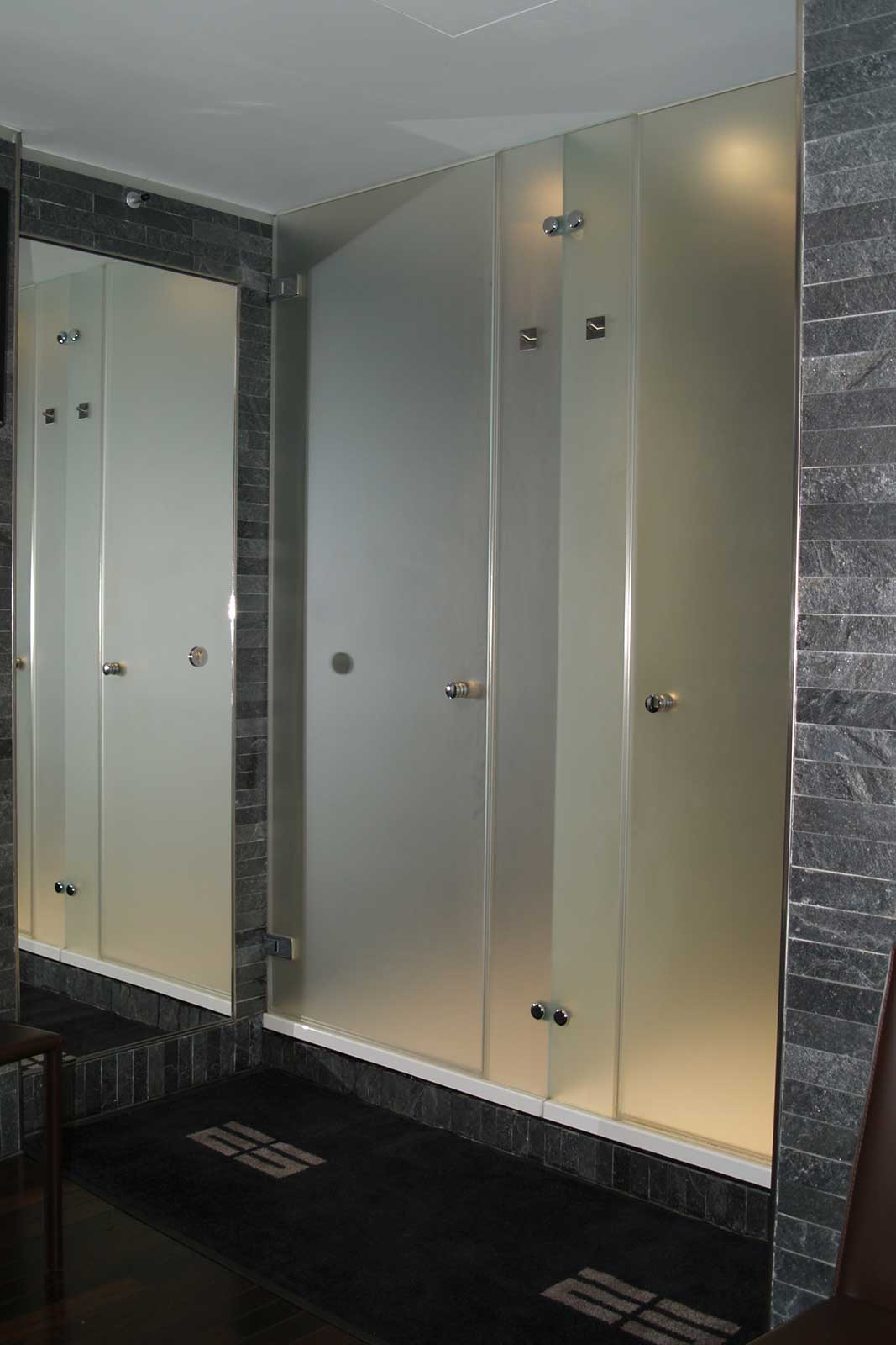 custom fit door nanaimo installations in glass residential baywood shower
