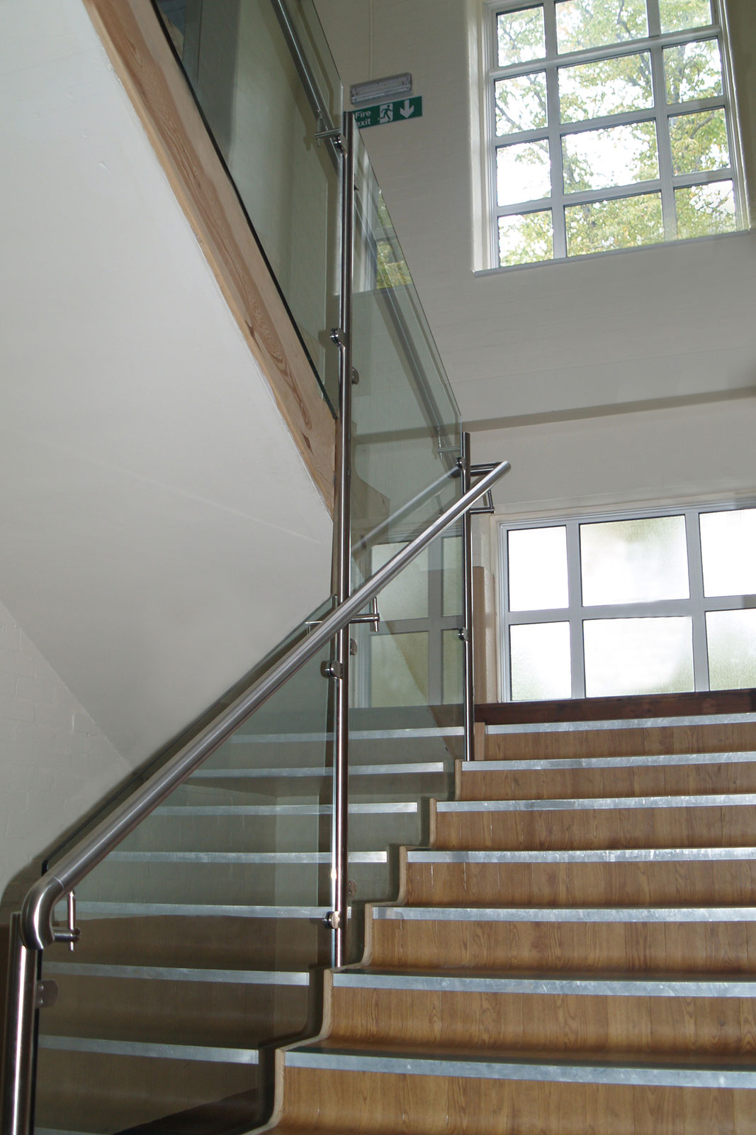 Post & Rail Glass Balustrades, Windsor Boys' School