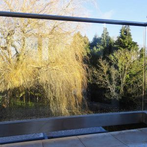 External Glass Balustrade to Residential Property