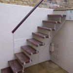 External Frameless Glass Balustrade Stairs