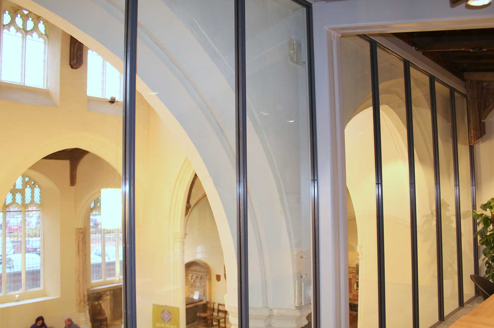 Acoustic Glass Meeting Room Partitions, St. Mary's Church