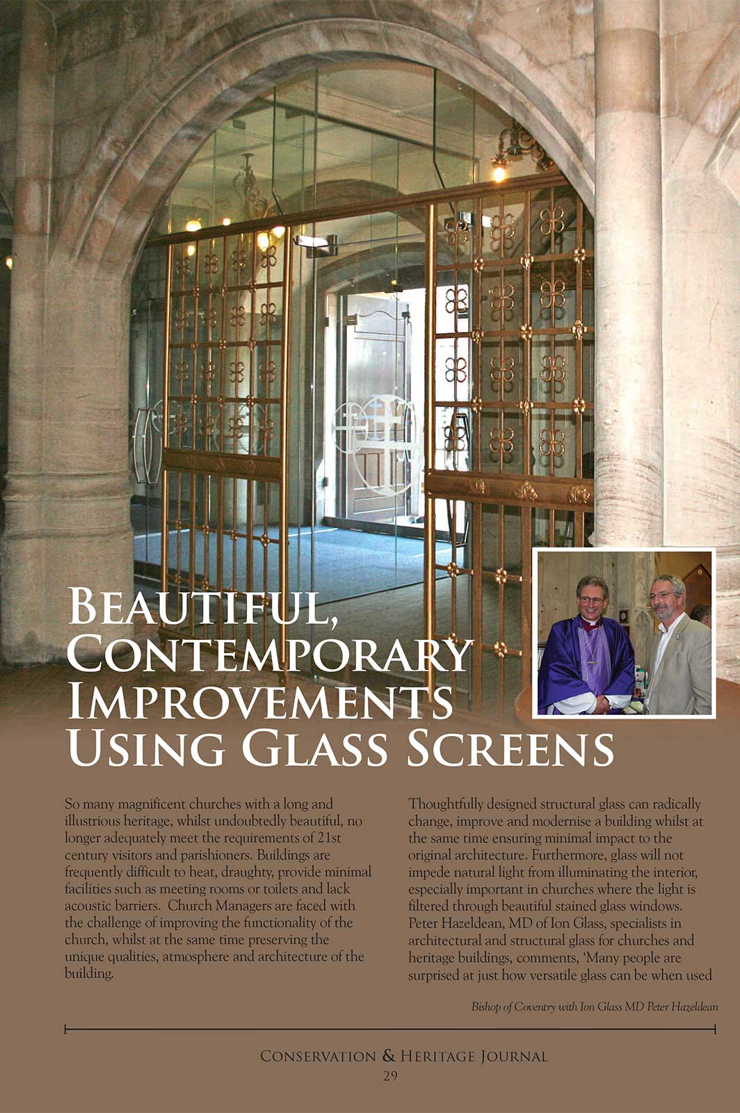 Beautiful, Contemporary Improvements Using Glass Screens - Conservation & Heritage Journal