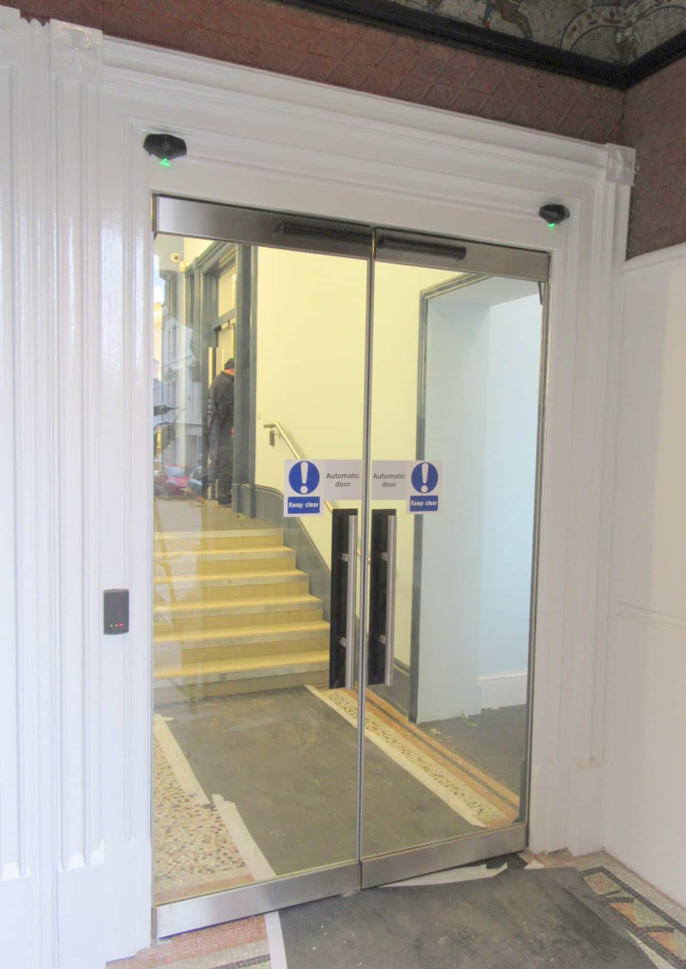 Hastings Library Custom Automatic Glass Doors