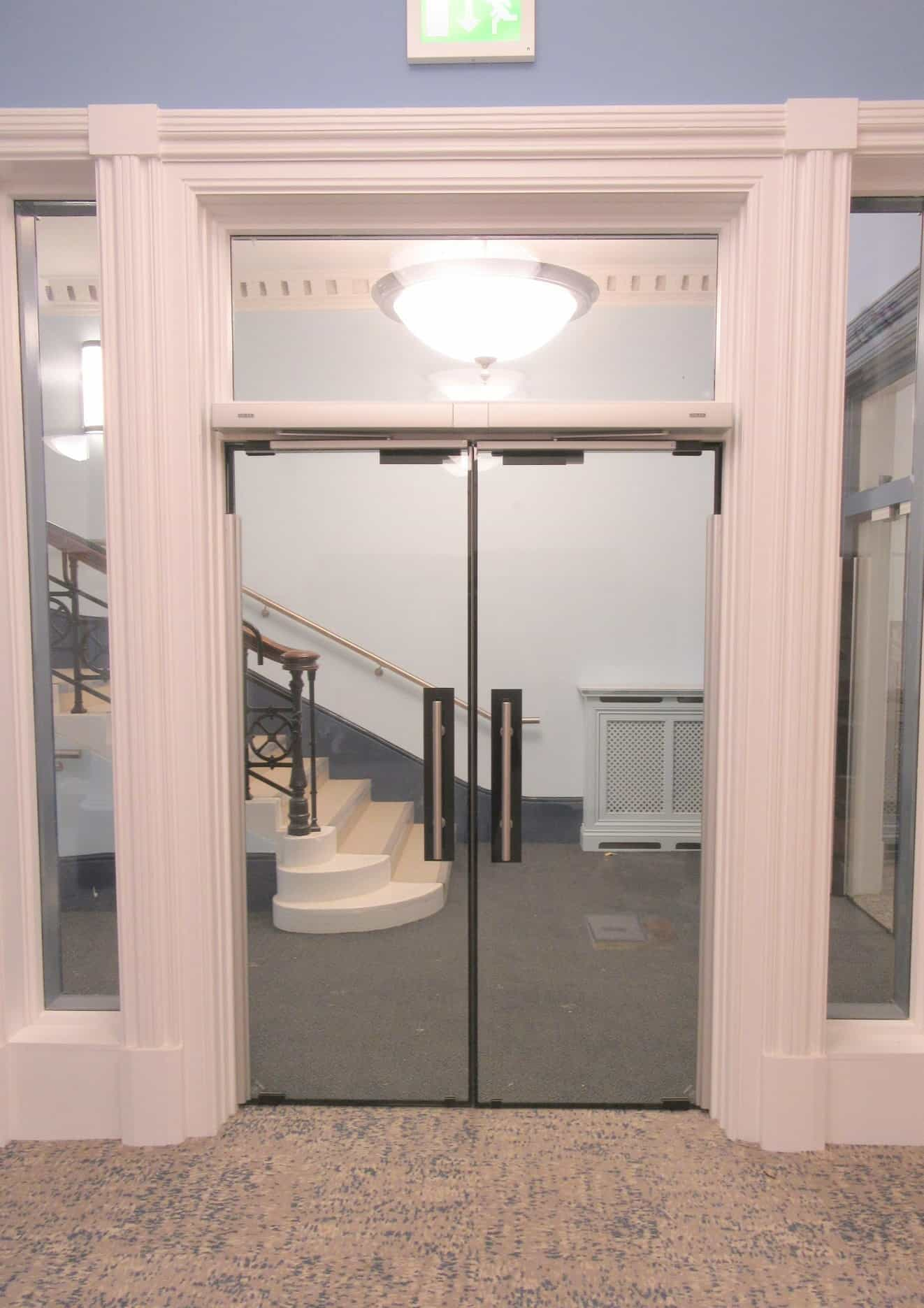 hastings-library-automatic-glass-fire-rated-doors-and-pannel