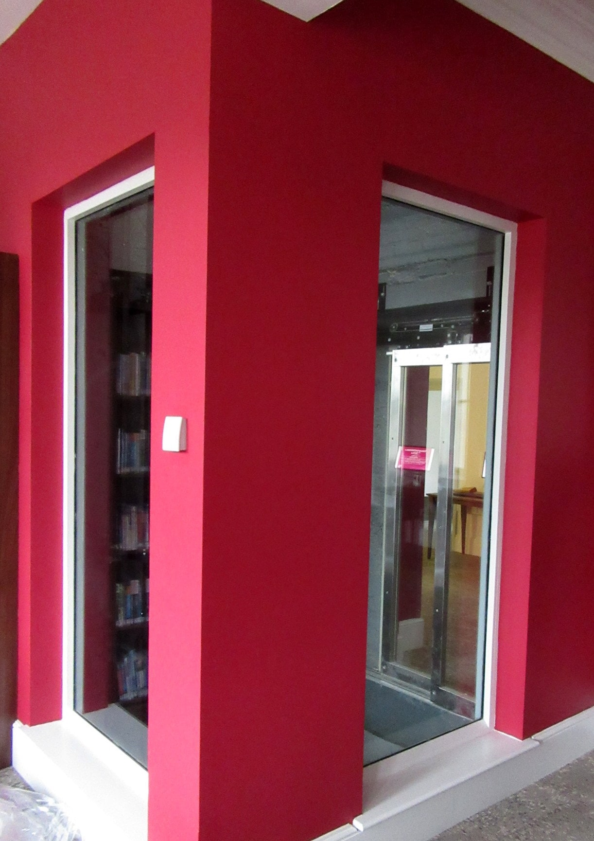 Bespoke Fire Rated Glass Screens at Hastings Library