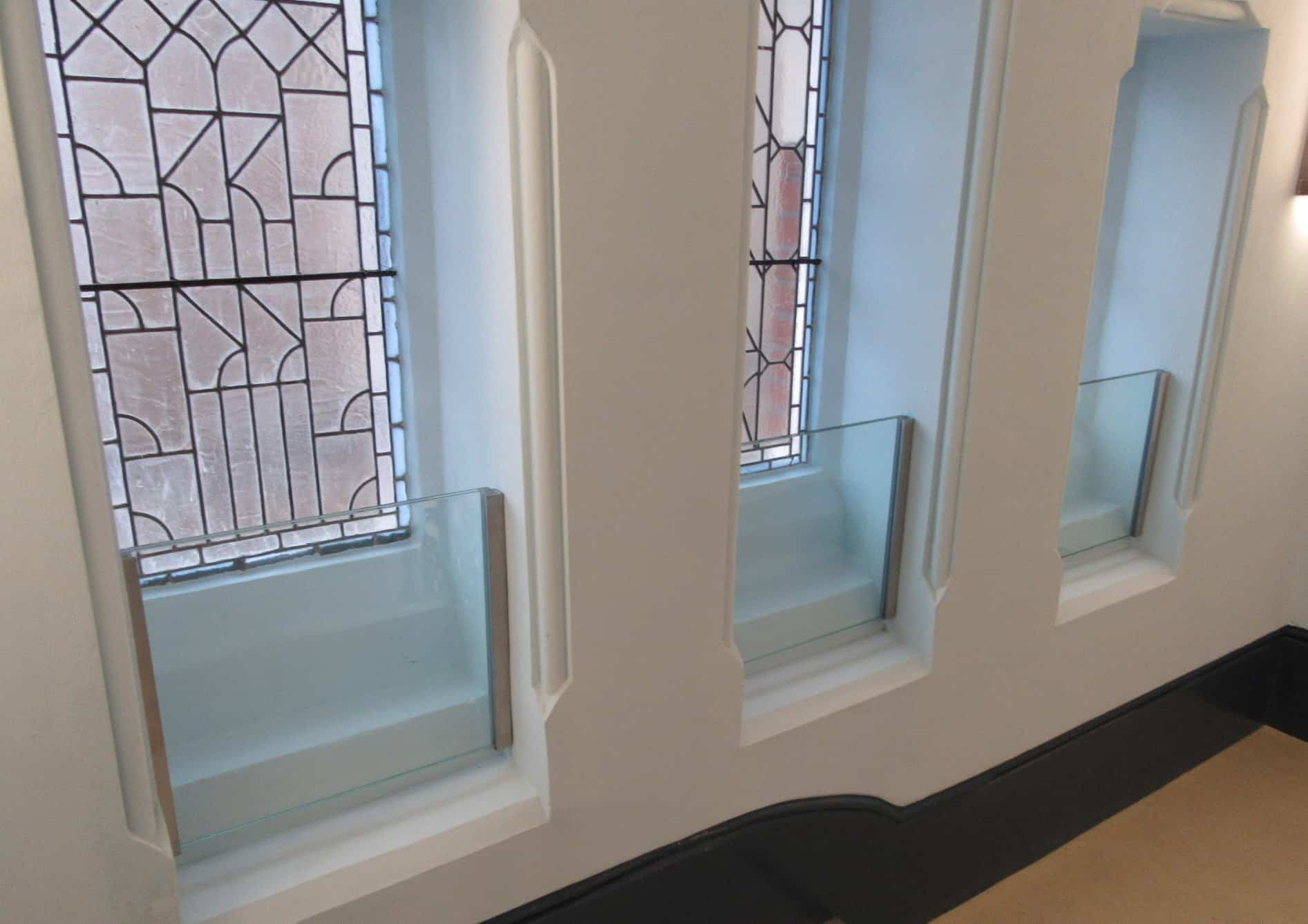 Protective Glazed Screens to Stained Glass