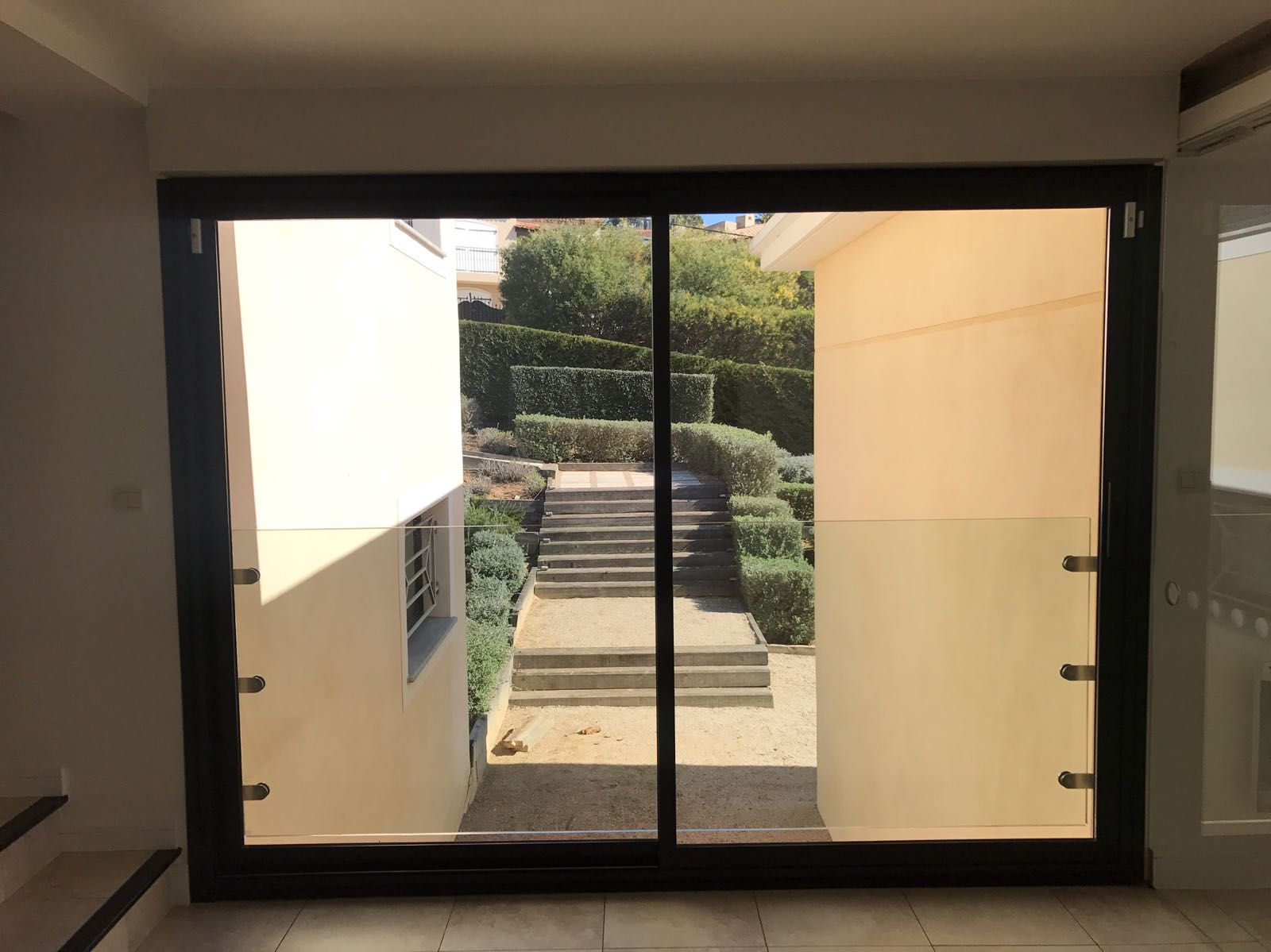 Julitette Balcony Frameless Glass Installation
