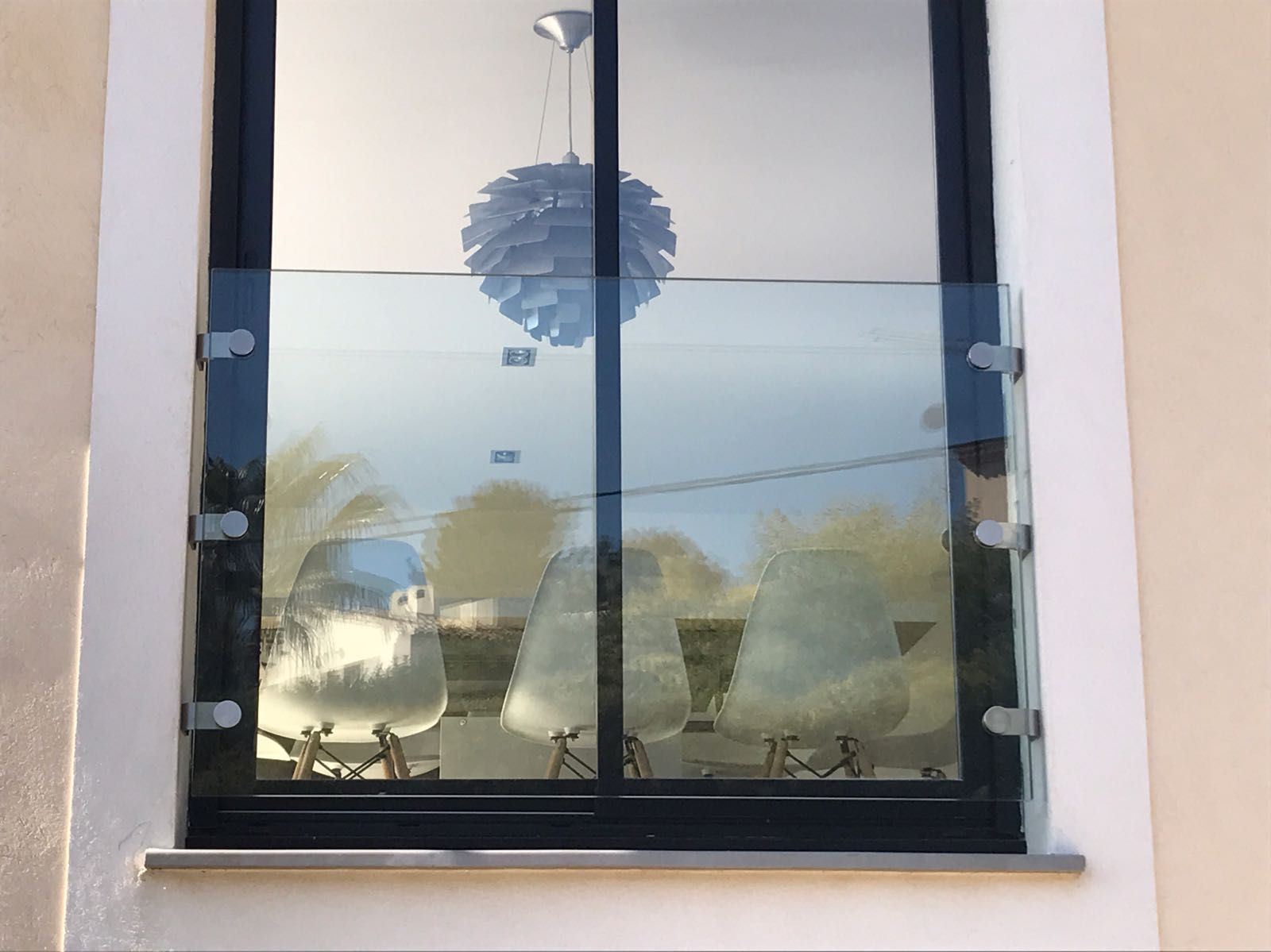 Juliette Frameless Glass Balustrade