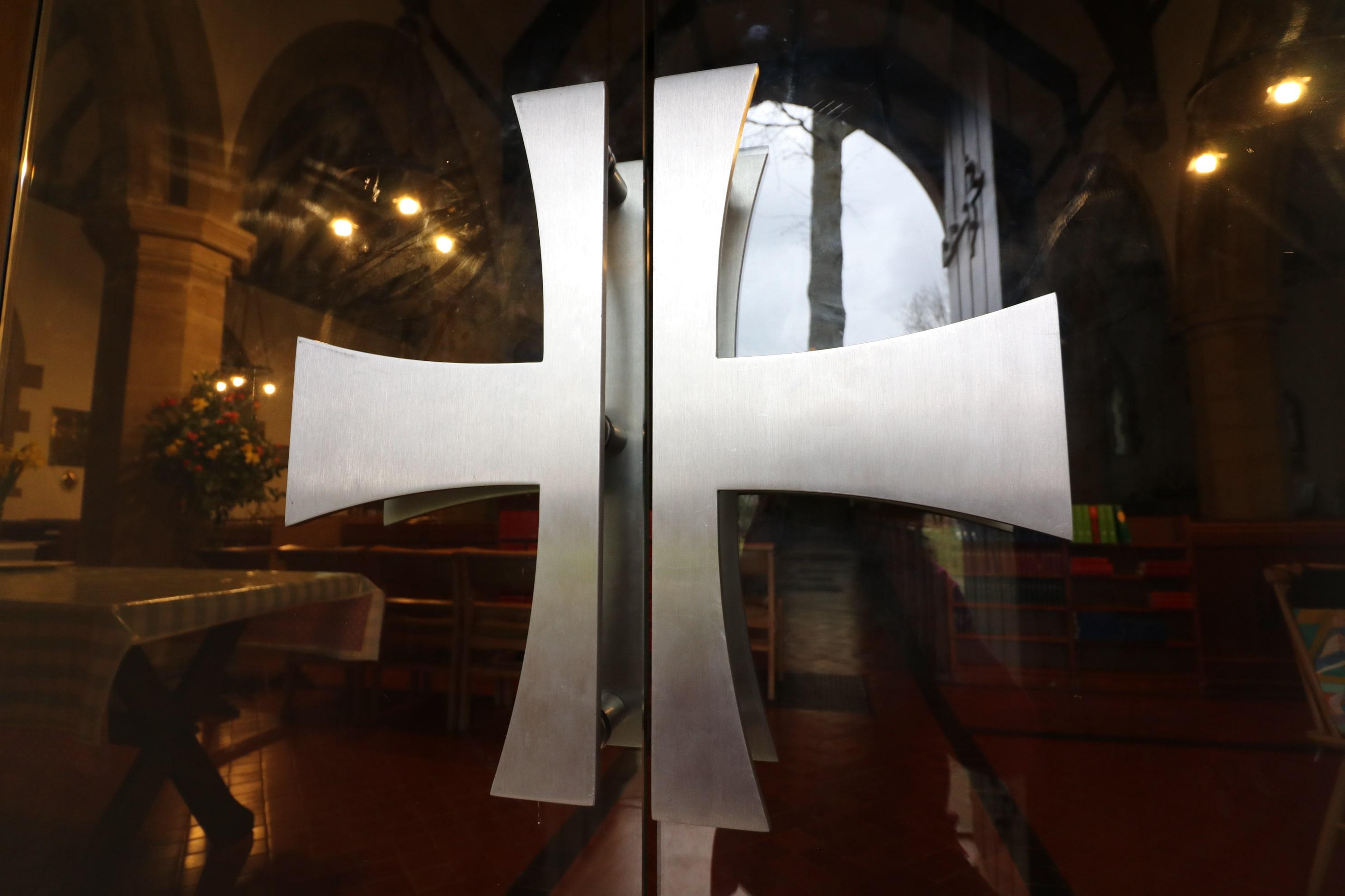 Bespoke stainles steel door handles St Mary's