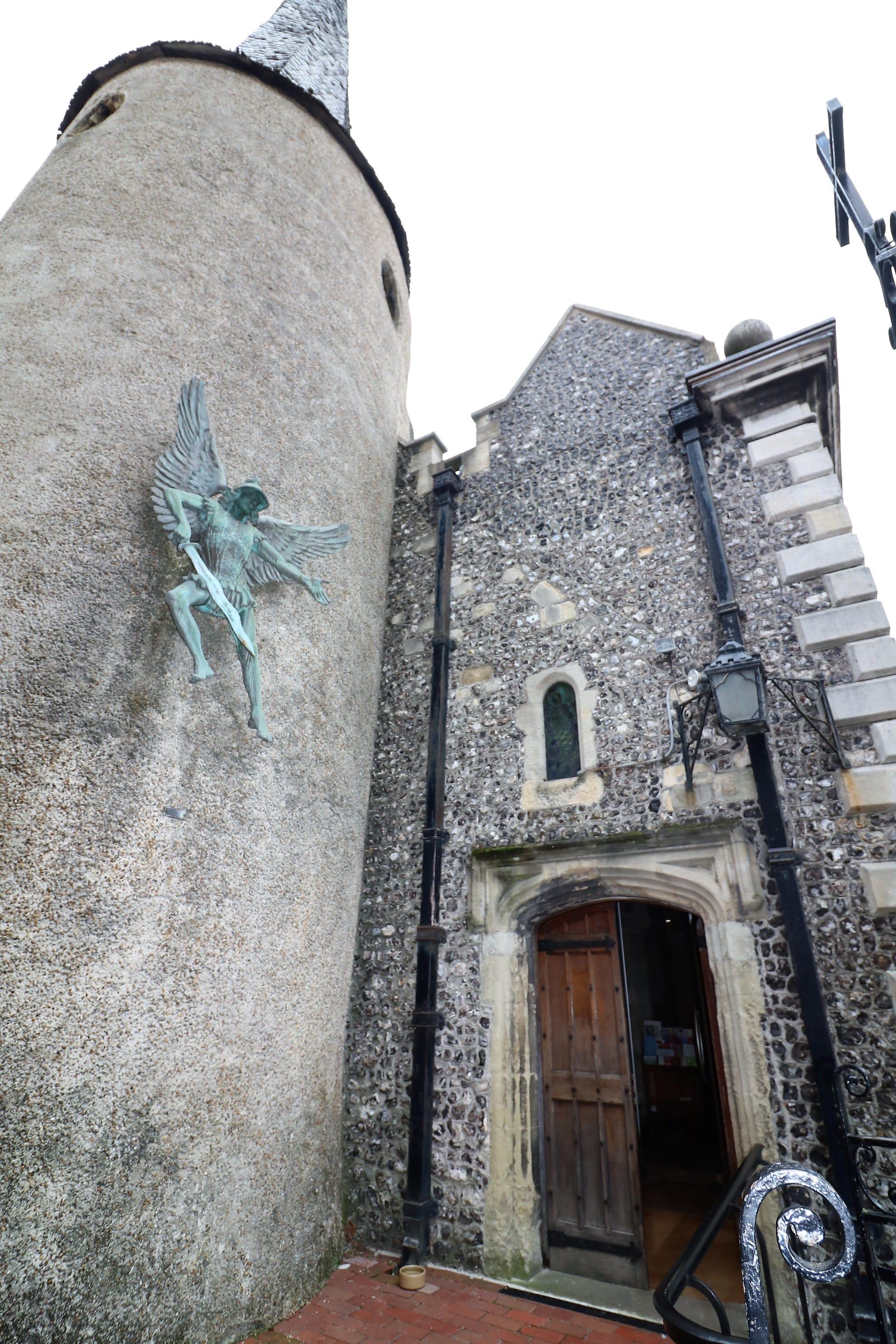 St Michaels Church Lewes historic buildings
