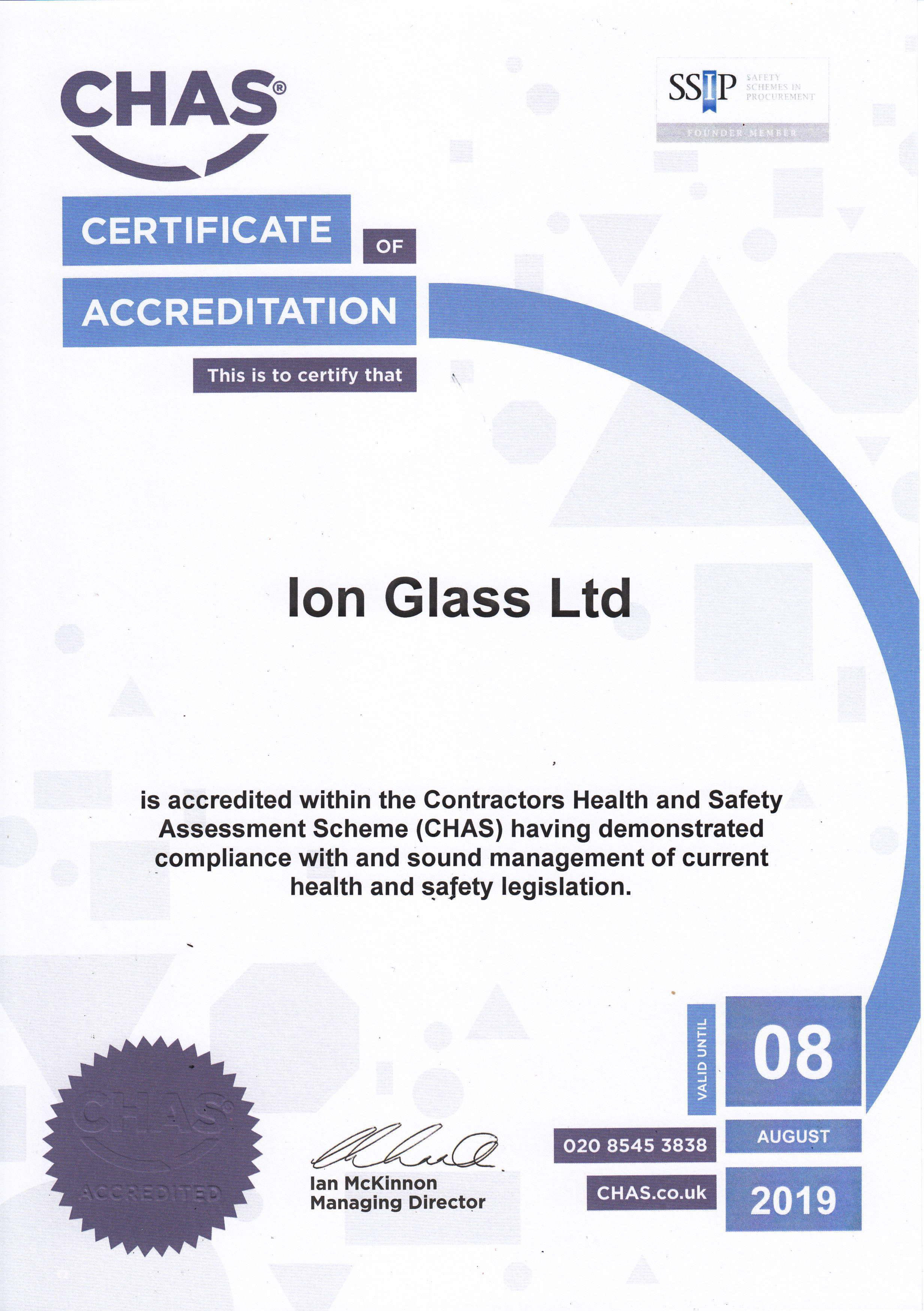 chas-certificate-2018-2019