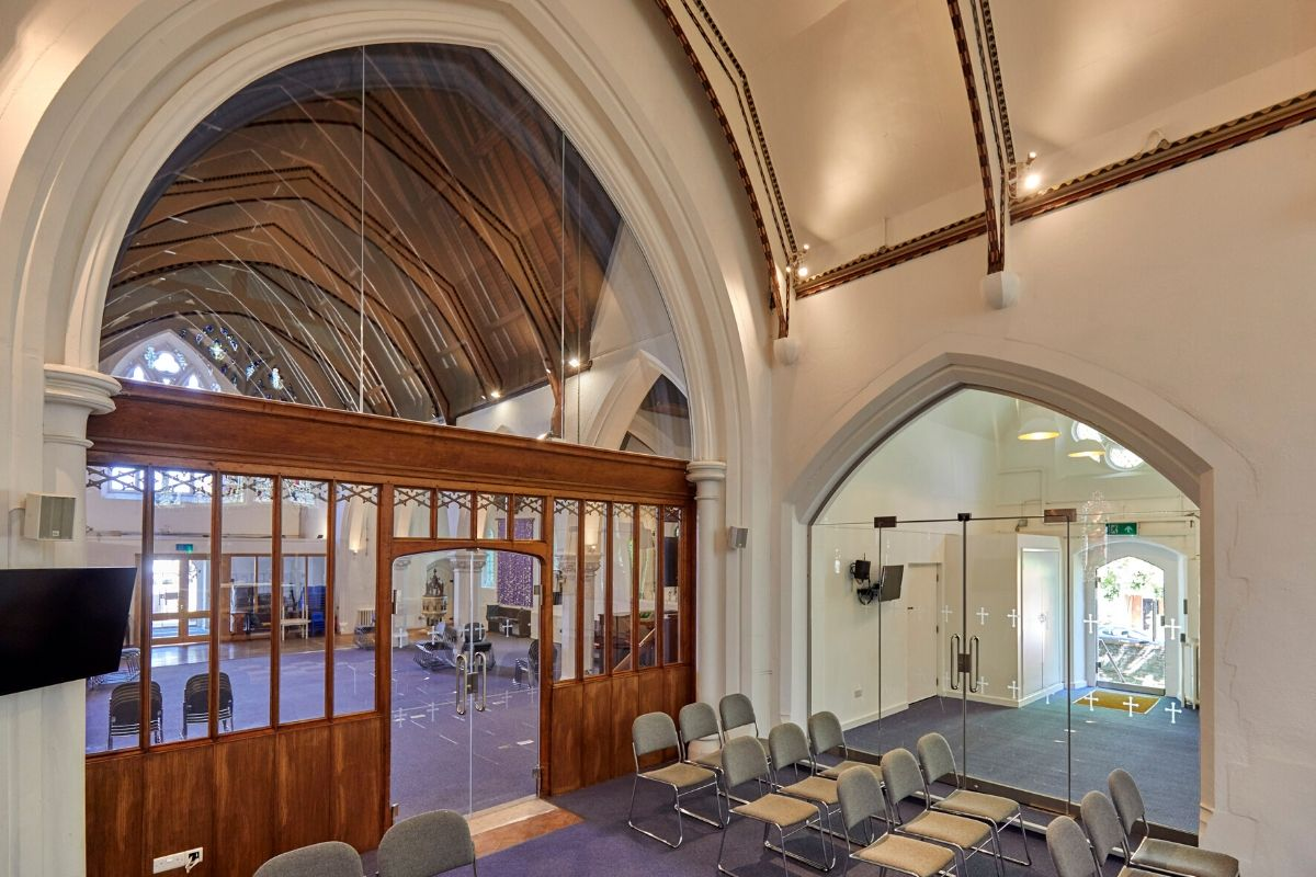 Glass installations to St Mary Church
