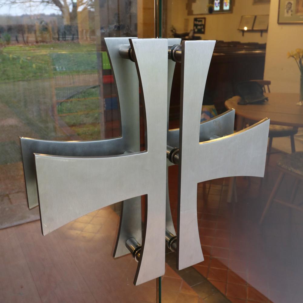 Bespoke stainless steel handles st marys balcombe